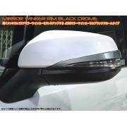 日本 JDM 豐田 TOYOTA ALPHARD VELLFIRE 30系專用倒後鏡電鍍裝飾貼