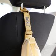 日本 JKM 汽車用椅背掛勾掛鉤 ( 灰 / 綠 / 杏 / 藍 可選 )