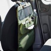 日本 JKM 汽車用座椅背收妠袋雜物袋杯架紙巾袋手機座登山扣安全扣