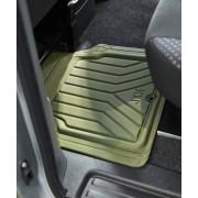 日本 JKM 汽車用車內防水防污前座後座司機位乘客位地膠地毯 ( 軍綠色 / 深藍色 / 深灰色 )