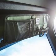 日本 JKM 汽車用太陽擋收納袋雜物袋咭片套眼鏡收納