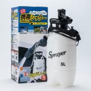 日本 手提式洗車機5L洗車器水桶洗車神器
