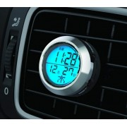 日本 KASHIMURA 汽車用出風口背光電子時鐘日期時間表