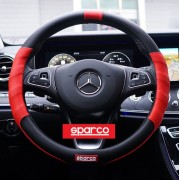 意大利SPARCO汽車賽車軚環套紅黑色