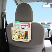日本 MOOMIN Moomintroll 姆明 Little My 阿美汽車用多功能後座椅背雜物袋收納袋