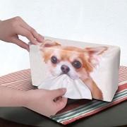 日本 MEIHO 汽車用吉娃娃 CHIWAWA 狗狗 小狗 巾盒紙巾袋紙巾套