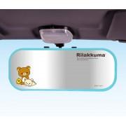日本 RILAKKUMA 鬆弛熊 汽車用加闊倒後鏡盲點鏡平面鏡