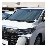 日本 MELTEC 汽車用ALPHARD / VELLFIRE 30系擋風玻璃消臭抗菌隔熱擋太陽擋遮陽擋