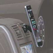 日本 NAPOLEX 汽車用出風口磁石電話座手機架