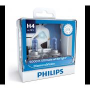 PHILIPS 汽車 車頭 大燈 燈泡 12V H4 5000K 白光 DiamondVision --- 波蘭製 12342DV