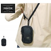 日本製 PORTER 多功能斜揹袋背包腰包銀包匙包手機袋電話包