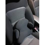 日本製 PROFACT 汽車用W型網質超舒適腰枕