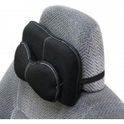 日本製 PROFACT 汽車用雙層網紋透氣頸枕頭枕
