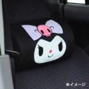 日本 SANRIO KUROMI 汽車用頭枕頸枕 ( 一對裝 )