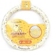 日本 SANRIO POMPOMPURIN 布甸狗布丁狗汽車用軚盤套軑環套