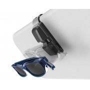日本 SEIKO 汽車用車內太陽擋板眼鏡夾眼鏡固定架 ( 黑色 )