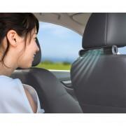 日本 SEIKO 汽車用USB頭枕椅背專用後座後排乘客可調較迷你靜音風扇