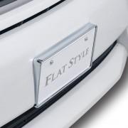 日本 SEIWA 日本車汽車用電鍍銀車牌架車牌框裝飾