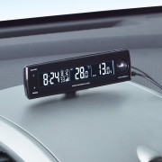 日本 SEIWA 12V汽車用多功能時鐘