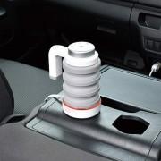 日本 SEIWA 汽車用12V可摺式電熱水壺