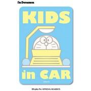 日本製 叮噹 時光機 DORAEMON KIDS IN CAR 車上有嬰兒 汽車貼紙