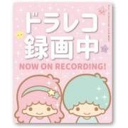 日本製 雙星仙子 LITTLE TWIN STARS 汽車用錄影中車貼紙 NOW ON RECORDING