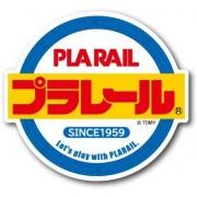 日本製 TOMY 日本鐵路 PLARAIL 新幹線 火車 LOGO 圓型 汽車貼紙