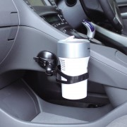 日本 YAC 汽車用杯型負離子空氣靜化機專用固定座吸塑