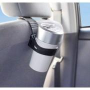 日本 YAC 汽車用杯型空氣靜化機空氣清新機椅背專用支架