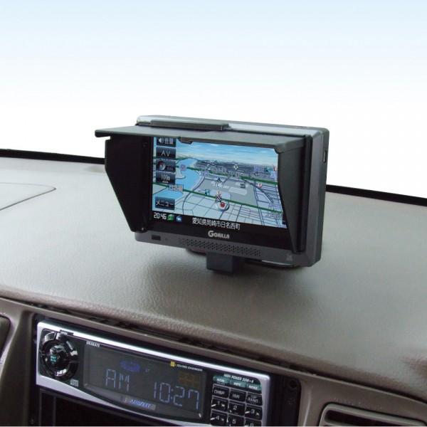日本 YAC 汽車用DVD車機屏膜顯示遮光罩 GPS 導航 泊車鏡頭